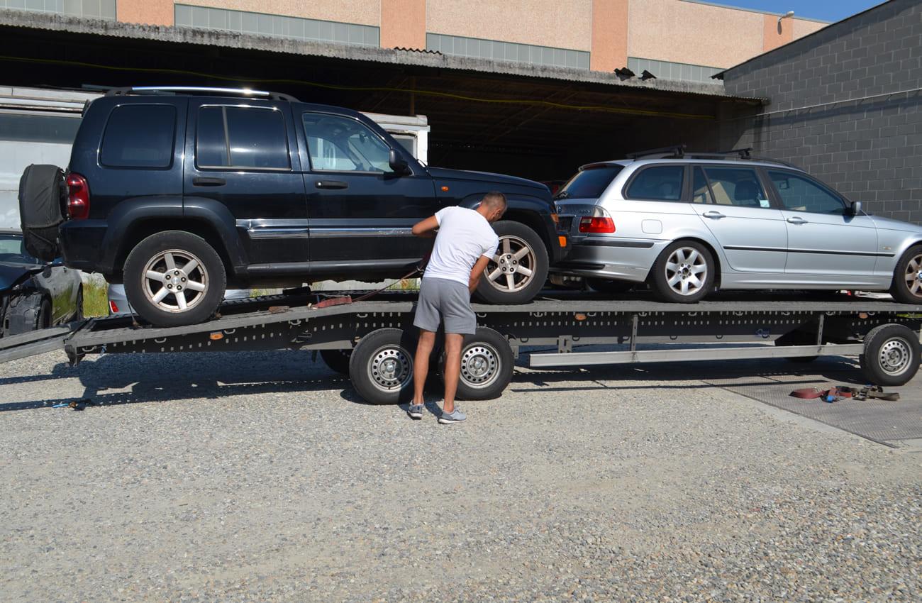 trasporto vetture comprate